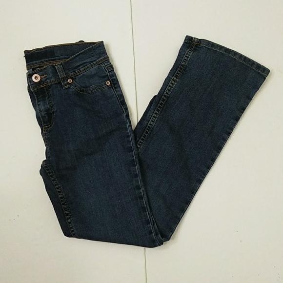 Other - 😻 Girl flare leg embellished pocket jeans 12 Slim